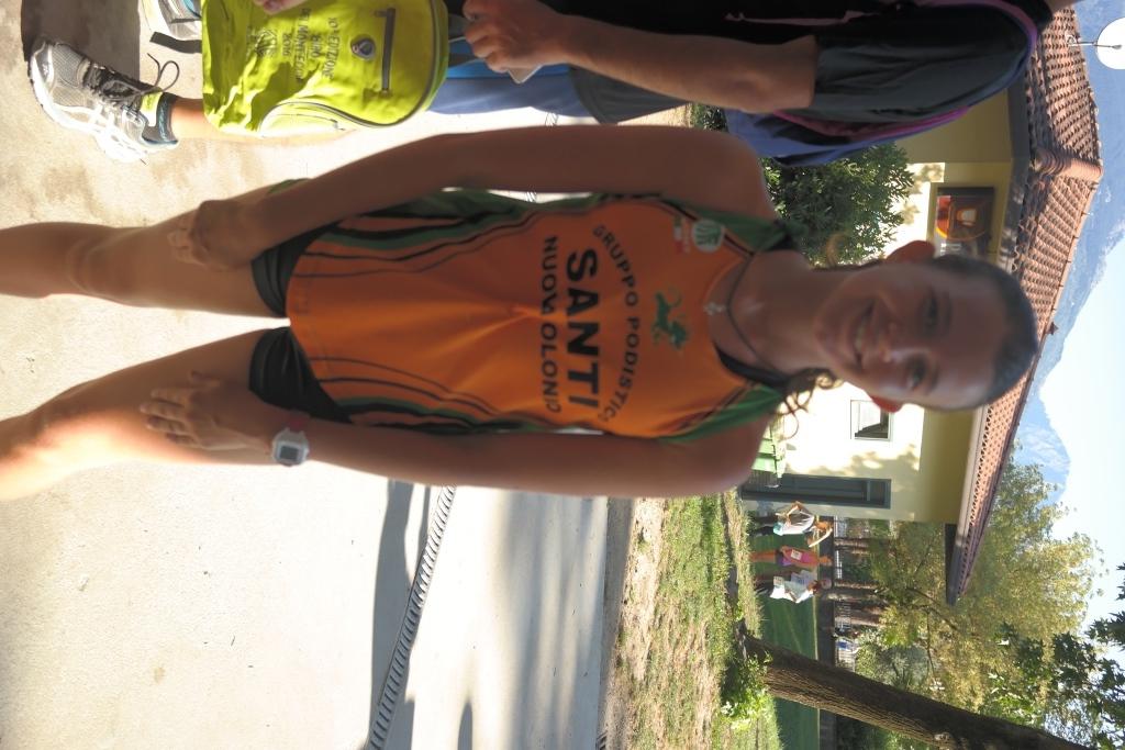 La prima classificata dei giovani atleti Greta Francesca